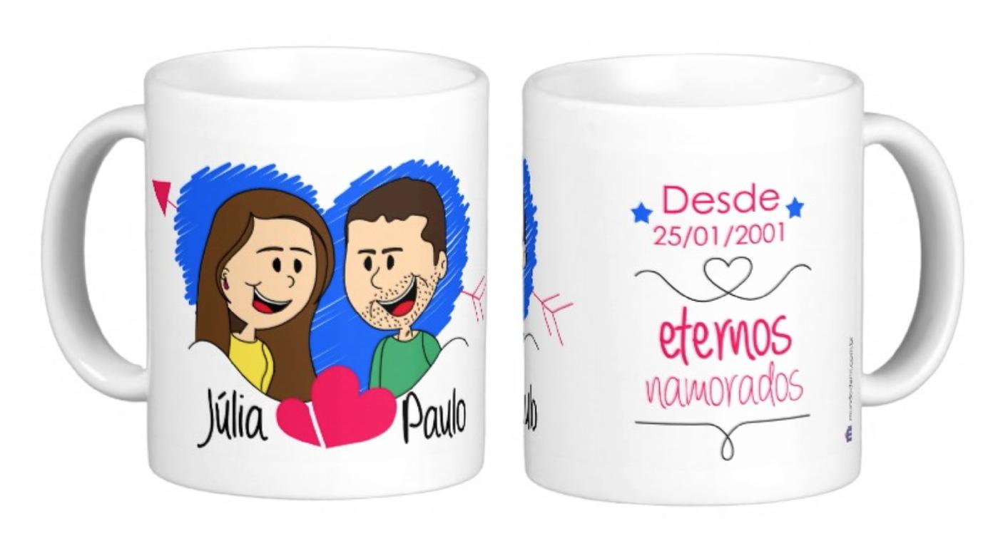 Caneca Personalizadas Para O Dia Dos Namorados Mundo Da Mi